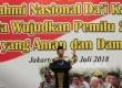 Kapolri Jenderal Tito Karnavian memberikan paparan pada acara silahturahim nasional Da'i Kamtibmas di Hotel Bidakara, Jakarta, Selasa (17/7).