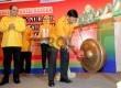 Ketua Umum Partai Hati Nurani Rakyat (Hanura), Wiranto membuka Rapat Pimpinan Nasional III Hanura di Jakarta, Sabtu (24/1). (Republika/Agung Supriyanto)