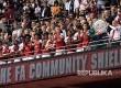 Arsenal kembali menyabet trofi pembuka liga Community Shield setelah terakhir merebutnya pada tahun 2015.
