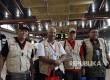 Empat relawan teknis RS Indonesia kembali bertolak ke Myanmar.