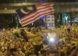Gelombang demonstran Malaysia, Minggu (30/8)