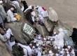 Gua Hira di Jabal Nur, Makkah, dipadati ratusan jamaah haji yang berziarah ke lokasi pertama kalinya wahyu turun kepada Nabi Muhammad.