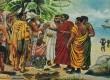 Ilustrasi Muslim Afrika saat pertama kali menjejakkan kaki di Benua Amerika.
