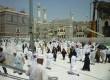 Jamaah menuju Masjidil Haram, Makkah, untuk melaksanakan shalat Jumat pada 12 Agustus 2016.