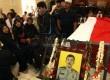 Jenazah almarhum Bripka Sukardi anggota Provost dari satuan Direktorat Polair Baharkam Mabes Polri disemayamkan di Asrama Polri Cipinang, Jakarta Timur, Rabu (11/9). (Republika/Adhi Wicaksono)