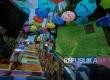 Kampung warna-warni Jodipan dihiasi Payung berwarna-warni.
