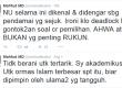 Kicauan Mahfud MD tentang pelaksanaan Muktamar NU.