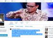 Kicauan Rektor UIN Syarif Hidayatullah, Komaruddin Hidayat.
