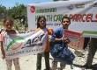 Program penyaluran bantuan ACT di Gaza, berupa penyaluran bantuan paket pangan, obat-obatan dan kursi roda.  (dok. ACT)