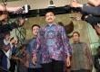 Mantan Menpora Andi Alfian Mallarangeng menjalani pemeriksaan di Gedung KPK, Jakarta, Jumat (19/7).   (Republika/Adhi Wicaksono)
