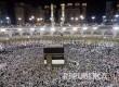 Masidil Haram dipadati jamaah seminggu menjelang pelaksanaan haji tahun ini. (REUTERS/Ahmed Jadallah)