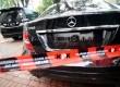 Mobil mewah milik Tubagus Chaeri Wardhana alias Wawan yang disita oleh KPK, Jakarta, Selasa (11/2).    (Republika/ Wihdan)