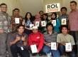 Para peserta ROL to Campus bersama Smartfren yang meraih hadiah New Smartfren Andromax Tab 7.0