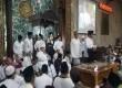 Pasangan calon Gubernur Anies Baswedan-Sandiaga Uno menghadiri zikir dan doa bersama yang digelar di Masjid Agung Sunda Kelapa, Jakarta Pusat, Kamis (9/2).
