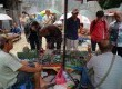 Pedagang menunjukkan koleksi batu Bacan di lapak PKL kawasan Pasar Rawa Bening, Jakarta Timur, Senin (13/10). Ragam batu cincin saat ini kembali banyak diburu oleh para kolektor perhiasan menimbulkan banyak bermunculannya pedagang batu musiman.