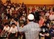 Pelajar mengikuti pembukaan Pesantren Sains Generasi Islami, Generasi Cerdas, Generasi Qurani di Masjid At-tin, Jakarta, Sabtu (31/12).Republika/Tahta Aidilla