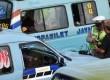 Pengawasan terhadap angkutan umum diperketat. Hal tersebut dilakukan karena maraknya tindak kejahatan yang terjadi di angkutan kota. (Republika/Aditya)