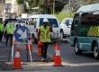 Pengerjaan proyek pelebaran jalan di Jalan Fatmawati, Jakarta Selatan, Selasa (24/9). (Republika/Yasin Habibi)