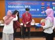 Penyematan simbolis kepada mahasiswa asing di Kampus UMM