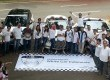 Peresmian Sekretariat White Car Indonesia pada hari Minggu (9/12).