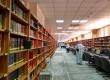 Perpustakaan Masjid Nabawi di Madinah, Arab Saudi.  (Republika/Amin Madani)