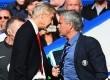 Perseteruan Arsene Wenger vs Jose Mourinho