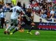 Pertandingan Bordeaux kontra Bastia dalam lanjutan Ligue 1 di Stade Chaban-Delmas, Bordeaux, Ahad (31/8).