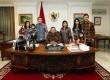 Presiden SBY dan keluarga.