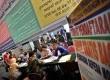 Sejumlah warga mendaftarkan diri sebagai peserta mudik di kantor Kemenhub, Jakarta, Jumat (26/7). (Republika/ Tahta Aidilla)