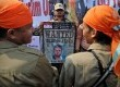 Sekitar tiga ribu simpatisan Partai Keadilan Sejahtera berunjuk rasa mengecam penistaan agama di depan Kedubes AS, Jakarta, Ahad (30/9).  (Aditya Pradana Putra/Republika)