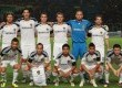 Skuad LA Galaxy yang diturunkan pada partai persahabatan melawan Timnas Indonesia Selection di Stadion Gelora Bung Karno, Jakarta, Rabu (30/11). (Republika Online/Fafa)