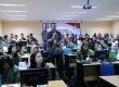 Suasana kegiatan Republika Online Journalism Training di Universitas Pembangunan Nasional (UPN) Veteran Jakarta, Selasa (26/2).