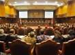 Suasana sidang pembacaan putusan sengketa Pemilihan Presiden yang dipimpin Ketua Mahkamah Konstitusi (MK) Hamdan Zoelva, Jakarta, Kamis (21/8).