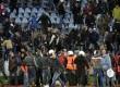 suporter rusuh pada pertandingan Slovan Bratislava dan Sparta Prague