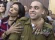 Tentara Israel Elor Azaria pelaku pembunuha terhadap warga Palestina mendengarkan vonis disampaikan majelis hakim pengadilan militer di Tel Aviv, Israel.