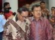 Wakil Presiden Jusuf Kalla bersama Ketua MPR Zulkifli Hasan.