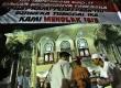 Warga, Tokoh Masyarakat, aparat keamananan Polri dan TNI menghadiri deklarasi penolakan Islamic State Of Iraq & Suriah (ISIS) di Masjid Muhammad Ramadhan, Pekayon, Bekasi Selatan, Jakarta,