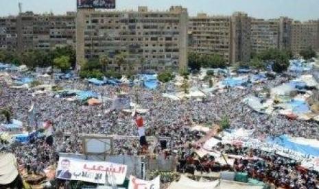 Demo pendukung Mursi