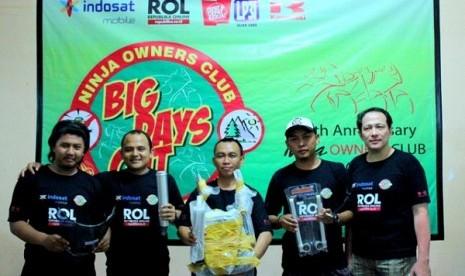 Acara Big Days Out NOC di Bogor, Jawa Barat, Ahad (16/4).