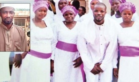Afolabi, mualaf asal Nigeria.