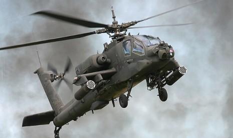 AH-64D Apache Longbow (ilustrasi)
