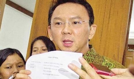 Ahok Mundur Wakil Gubernur DKI Jakarta Basuki Tjahaja Purnama