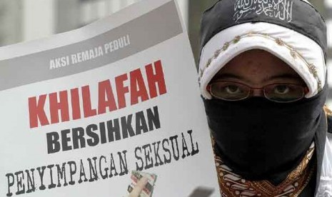 Aksi anti penyimpangan seksual.