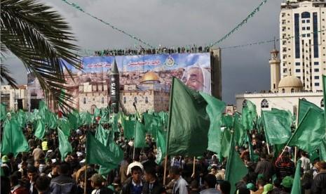 Aktivis Hamas Palestina.