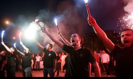Ultrakanan Yunani Ingin Intimidasi Imigran Bermayoritas Muslim