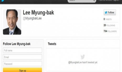 Hina Presiden di Twitter, Perwira AD Korsel Dihukum Enam Bulan Penjara