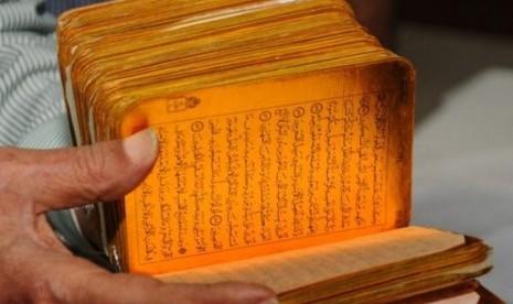 Alquran yang dikalim tertua ditemukan di Karnataka, India