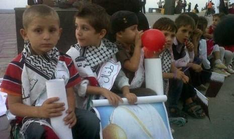 Siswa Palestina Lebih Pintar Dibanding Siswa Indonesia