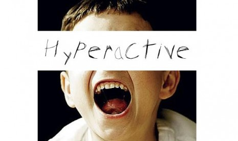Anak Hiperaktif (ilustrasi)