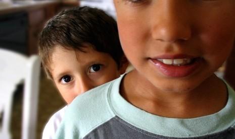 Anak kurang percaya diri/ilustrasi